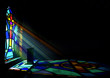 Stained Glass Window Church - 79134253