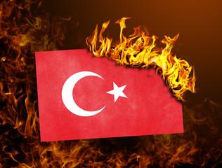 Flag burning - Turkey