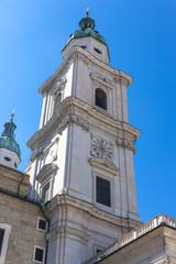 Salzburger Dom,  Residenzplatz,  Salzburg UNESCO Welterbe