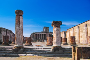 The Basilica, Archeological excavations of Pompeii