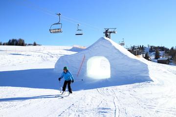 Snowpark und Lift