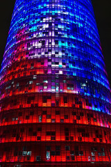 Torre Agbar of Jean Nouver architect, Barcelona.