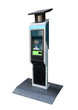 Bike Rental Kiosk Pay Station Parking Meter standing - 79136885