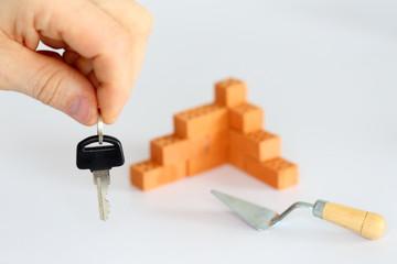 Mauer und Schlüssel