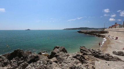 Antibes harbor France Cote d'Azur