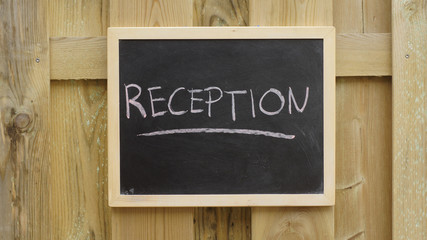 Reception written