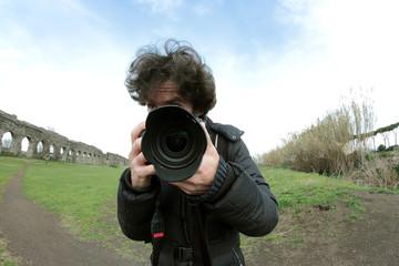 Big lens Photographer