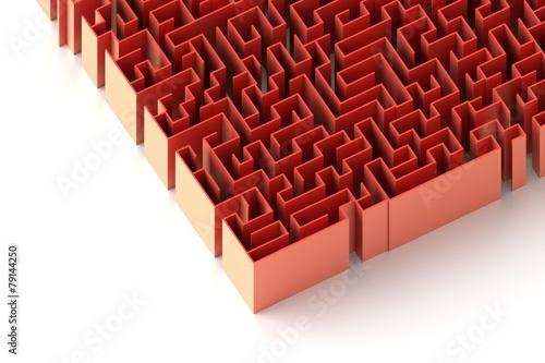 Huge labyrinth: original three dimensional model. - 79144250
