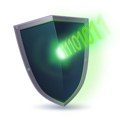 Shield against a cyber attack