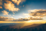 Sunset in the Great Smoky Mountains National Park