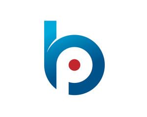 B P initials