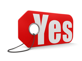 Label yes (clipping path included)
