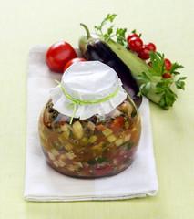 Ratatouille with fresh herbs