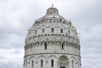 The Pisa Baptistry of St. John,  Pisa, Italy