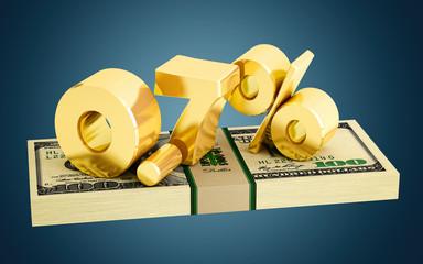 0.7% - savings - discount - interest rate
