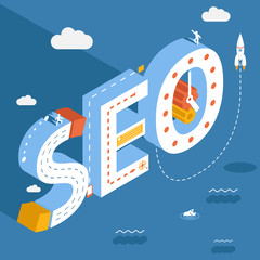 Isometric SEO, success internet searching optimization process