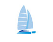 Catamaran Sailing Boat - 79150213