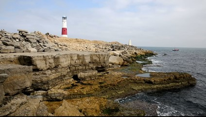 Portland Bill Lighthouse Isle of Portland Dorset England UK
