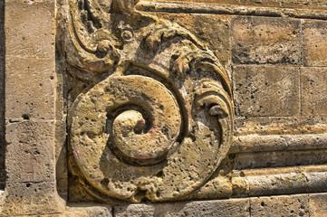 scultura in tufo