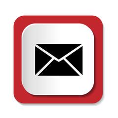 Векторный значок с изображением письма
