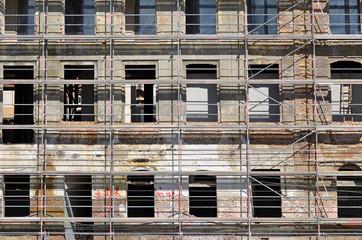 fassade, wohnbau, sanierung