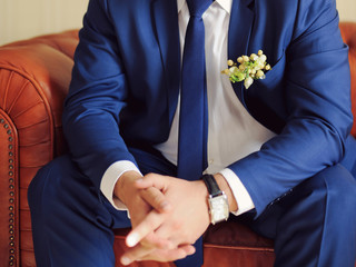 Boutonniere in Pocket