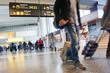 Leinwanddruck Bild - Airport