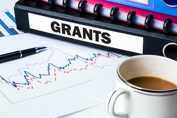 folder with label grants