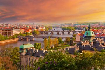 Sonnenuntergang in Prag
