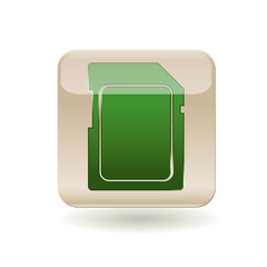 Icon Memory Card