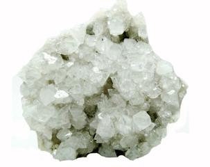 apophyllite geode geological crystals
