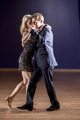 Sexy tango dancers