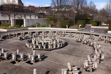Fountain technology in Copenhagen