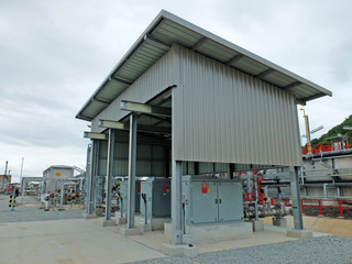 Wastewater Treatment Control Station in Refinery Thailand