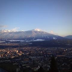 innsbruck am inn in den Alpen