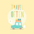 Travel often. Road trip. - 79168455