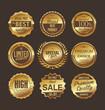 Premium quality retro labels collection