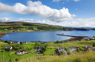 Schottland, town of Uig