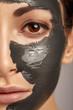 Beautiful woman with facial mask. - 79173099