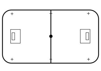 floorball field
