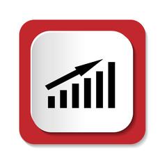 Векторный значок с изображением графика