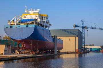 Ship Construction Wharf