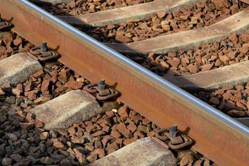 Rail and sleepers