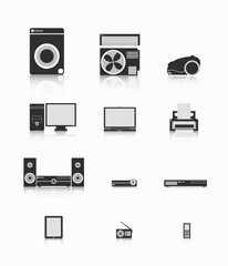 Electronics. A set of electronics.