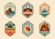 Mountain vintage labels, badges - 79176851
