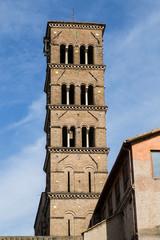 Campanile della Basilica di Santa Francesca Romana - Roma