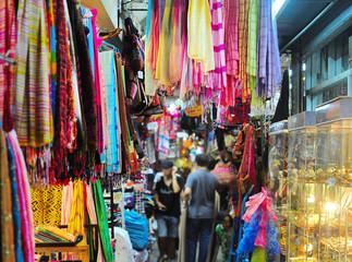 Colorful Chatuchak market, Thailand
