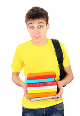 Student with the Books