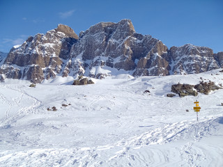 Mountains of Pizzo Uccello