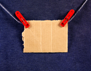 Cardboard on the Rope